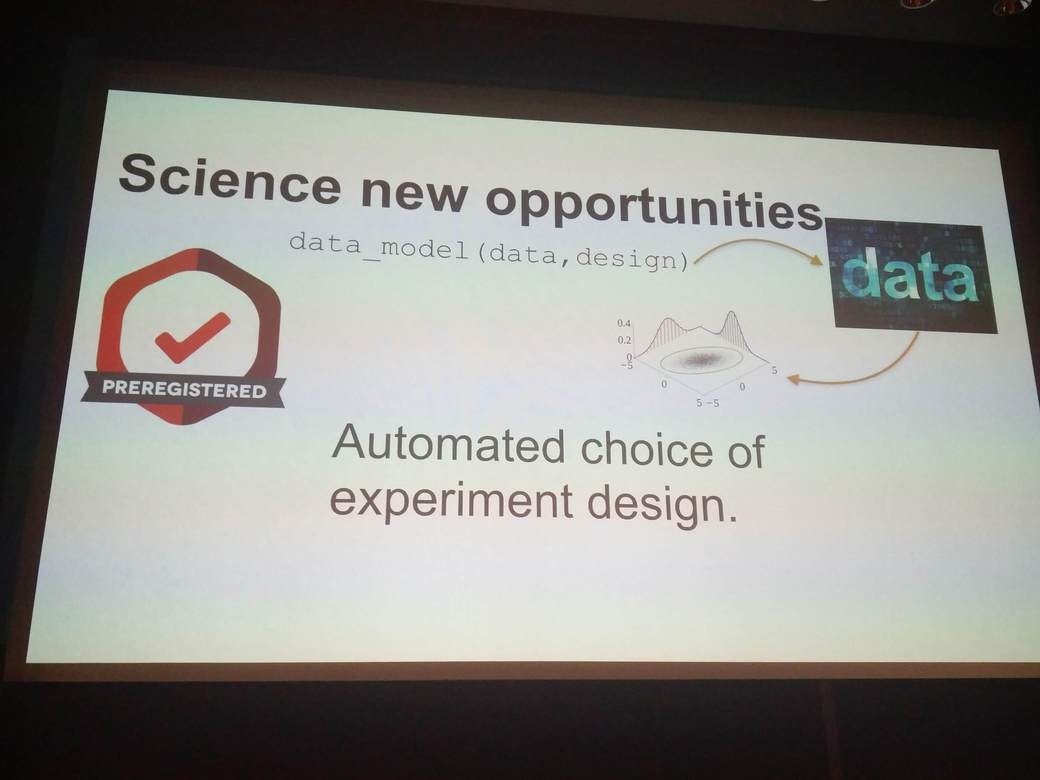Automated choice of experiment design