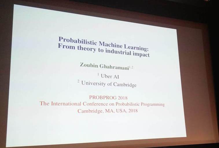 Probabilistic Machine Learning: From theory to industrial impact